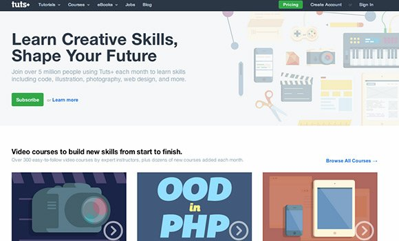 学习网页设计必知的20个教学资源站