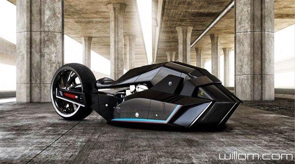 宝马Titan概念摩托车