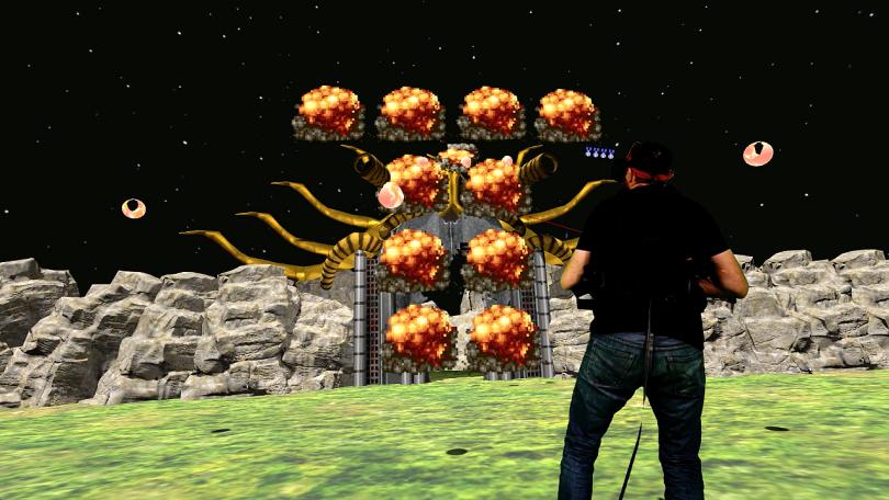 你现在可以在VR中玩对抗